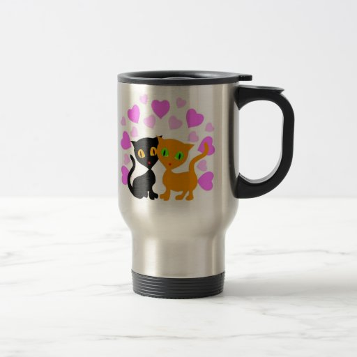 Kitty Love Coffee Mugs