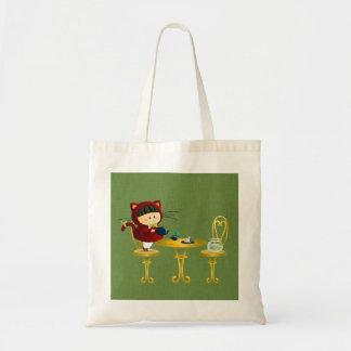 Kitty Tea Party Tote Bag
