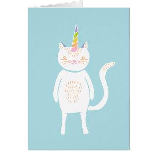 Kitty Unicorn Card