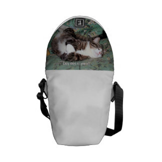 Kitty's Lazy Days Courier Bags
