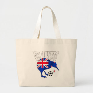 Kiwi All Whites logo shirts and gifts Tote Bags