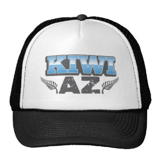 Kiwi az in blue and silver cap