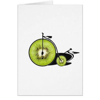 Kiwi bicycle card