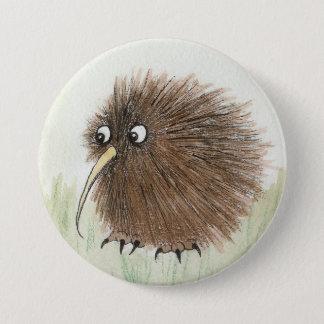 Kiwi Bird 7.5 Cm Round Badge