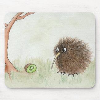 Kiwi Bird & Kiwi Fruit Mouse Pad