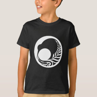 Kiwi Fern Disc T-Shirt