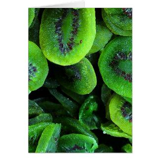 Kiwi Fruit Card