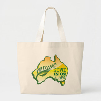 KIWI in OZ (Australia) BRO Jumbo Tote Bag