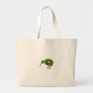 kiwi nz kiwifruit large tote bag
