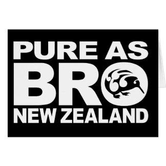 Kiwi, Pure New Zealand Card