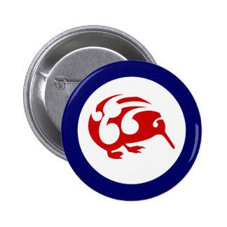 Kiwi Roundel 6 Cm Round Badge