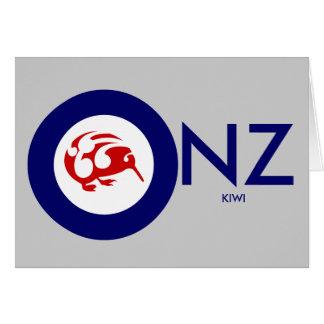 Kiwi Roundel Card
