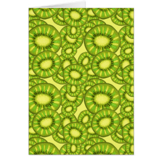 Kiwi Slices Pattern Card