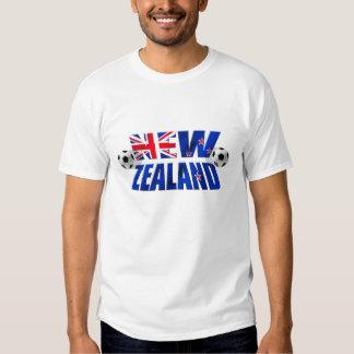 Kiwi Soccer logo NZ 2010 Football flag T Shirts