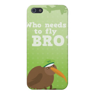 kiwi who needs to fly  iPhone 5/5S case