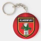 Klagenfurt Flag Key Ring