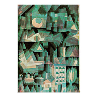 Klee - Dream City Poster