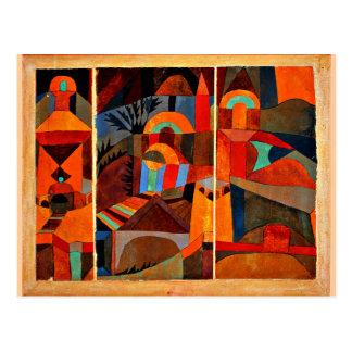 Klee - Temple Gardens Postcard