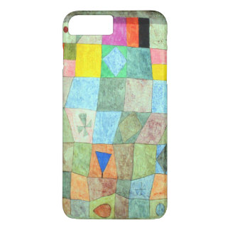 "Klee Vibrant Abstract ""Friendly Games"" Boho-Chic iPhone 7 Plus Case"