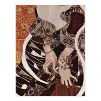 Klimt, Gustav Judith 1909 Technique ?l auf Leinwan Postcards
