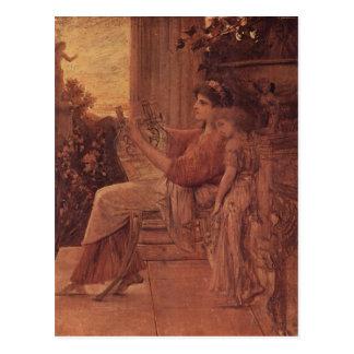 Klimt, Gustav Sapho 1888-1890 Technique ?l auf Lei Post Cards