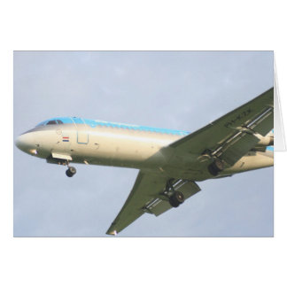 Klm Plane Card