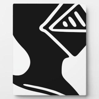 Knight Helmet Plaque