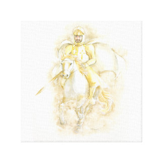 Knight Stretched Canvas Print