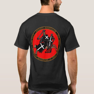 Knights Hospitaller Charging into Battle Seal Shir T-Shirt