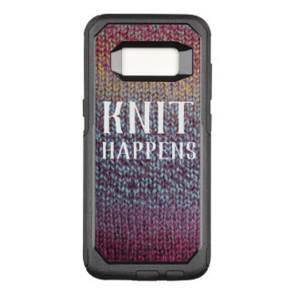 Knit Happens OtterBox Commuter Samsung Galaxy S8 Case