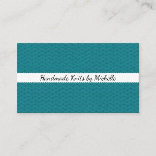 Handmade craft business cards zazzle nz knit texture handmade crafts business card colourmoves