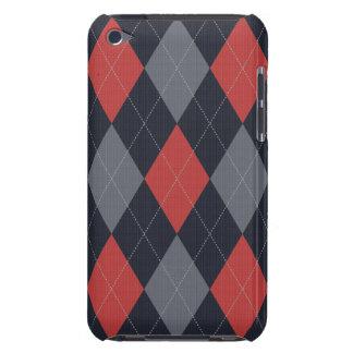 Knitted Argyle Ipod Case