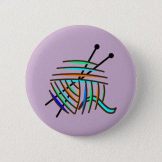 Knitting badge