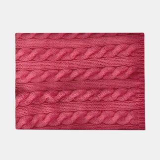 Knitting Doormat