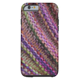 Knitting in Sunset Colours Tough iPhone 6 Case