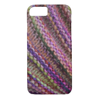 Knitting in Sunset Colours iPhone 8/7 Case