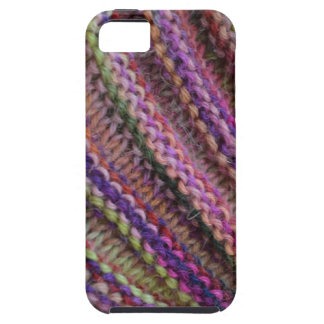 Knitting in Sunset Colours Tough iPhone 5 Case