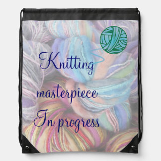 Knitting Masterpiece Project Bag for Crafters