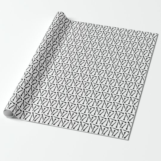 Knitting Needles Crafts 2017 Wrapping Paper