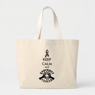 Knockout Cancer Jumbo Tote Bag