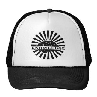 """Knowledge """"Burst"""" Trucker Hat"""