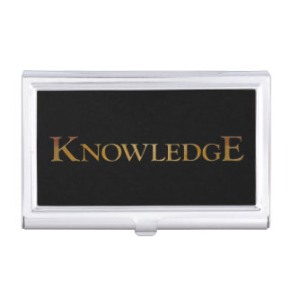 Knowledge Business Card Holders