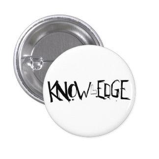 KNOWlEDGE button! 3 Cm Round Badge