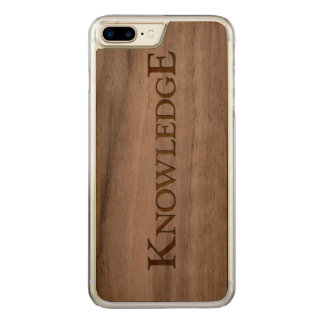 KNOWLEDGE CARVED iPhone 7 PLUS CASE