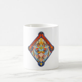 Knowledge Is Power Emblem Basic White Mug
