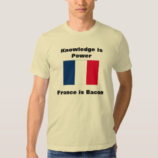 Knowledge is Power Flag T-shirt