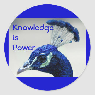 Knowledge is Power stickers