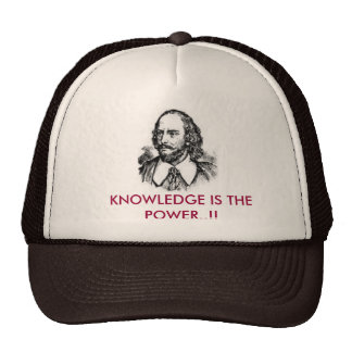 knowledge is the power hats