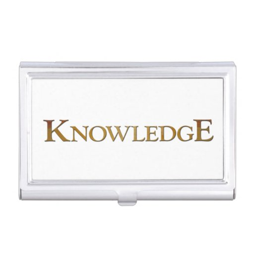 Knowledge Business Card Case