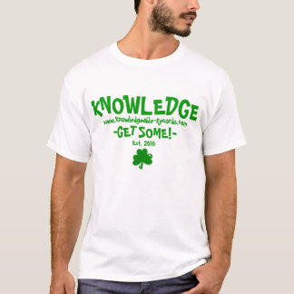 Knowledge St. Patrick's Day Tee